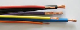 UNIFLEX. Провод монтажный H05V-K 300/450В 1x1.0мм2 Cu5 DIN VDE 0281, коричневая ПВХ изоляция (200м.)