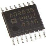 Фото 2/2 AD9835BRUZ, Генератор синтезатор частоты, 10-бит, 50МГц [TSSOP-16]