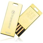 TS16GJFT3G, Флеш-накопитель Transcend 16GB JETFLASH T3G (Gold)