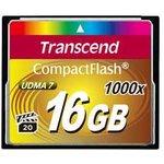 TS16GCF1000, Флеш-накопитель Transcend 16GB CompactFlash 1000X