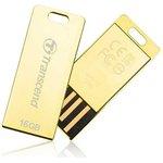 TS8GJFT3G, Флеш-накопитель Transcend 8GB JETFLASH T3G (Gold)
