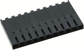 Фото 1/2 50-57-9011, Разъем типа провод-плата, 2.54 мм, 11 контакт(-ов), Гнездо, SL 70066 Series, Обжим, 1 ряд(-ов)