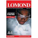Термотрансфер Lomond 0808415 A4/140г/м2/50л./белый для ...
