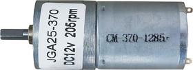 Мотор с редуктором JGA25-370 12В соотношение 1:34 205 об/мин
