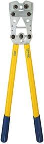 K05 Пресс-клещи с встр. матр. для медн. трубч. облегч. наконечников (6 - 50 мм2, шестигранник)