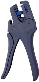 K432 Инструмент для снятия изоляции проводов в диапазоне сечений жилы 0,02-10 мм2 ( встроенный резак )
