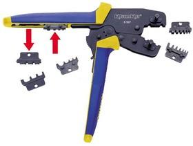 K507 Универсальные пресс-клещи с тремя парами матриц для наконечников 0,5 - 10 мм2