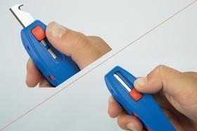 Фото 1/3 50057328 WEICON S 4-28 Multi Кабельный нож плюс снятие изоляции провода 0,5-6 мм2 (упаковка-блистер)