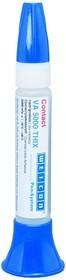 Фото 1/3 VA 300 (30г) Цианоакрилатный клей -VА (основа-этилат). Высокая вязкость 200-300 mPa s. Медленный.
