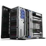 Фото 4/5 P11050-421, Сервер HPE HPE ProLiant ML350 Gen10 4208 2.1GHz 8-core 1P 16GB-R E208i-a 4LFF 1x500W RPS Server