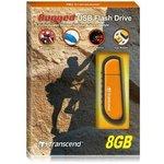 TS8GJFV70, Флеш-накопитель Transcend 8GB JETFLASH V70 (Orange)