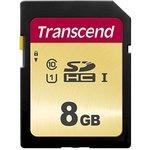 TS8GSDC500S, Флеш-накопитель Transcend Карта памяти ...