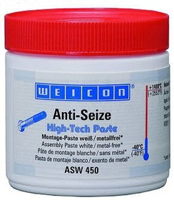 ASW 450 Анти-Сайз (450г) Белое смазочное, антикоррозионное средство, не содержащее метала (менее 0,1%). Банка.