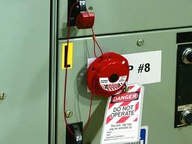 Фото 1/3 Блокиратор (рулетка) со стальным тросом 2.44 м