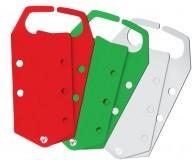 Замковый множитель, цвет красный, материал - алюминий (5 шт/упак)