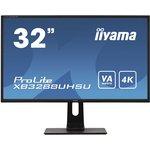 Фото 2/9 XB3288UHSU-B1, Монитор жидкокристаллический IIYAMA Монитор LCD 31.5'' [16:9] 3840x2160(UHD 4K) VA, nonGLARE, 300cd/