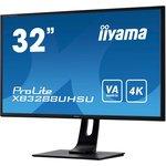 Фото 9/9 XB3288UHSU-B1, Монитор жидкокристаллический IIYAMA Монитор LCD 31.5'' [16:9] 3840x2160(UHD 4K) VA, nonGLARE, 300cd/