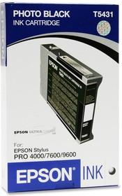 Картридж EPSON C13T543100 черный