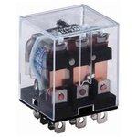 HHC68A-3Z-12D (Plug-in), Реле 3 пер. 12VDC / 10A, 240VAC