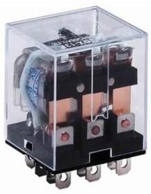 HHC68A-3Z-220A (Plug-in), Реле 3 пер. 220VAC / 10A, 240VAC