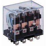 HHC68A-4Z-12D (Plug-in), Реле 4 пер. 12VDC / 10A, 240VAC