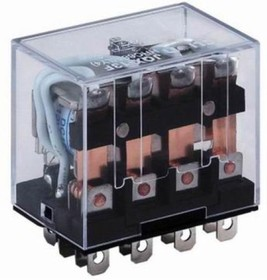 HHC68A-4Z-24D (Plug-in), Реле 4 пер. 24VDC / 10A, 240VAC