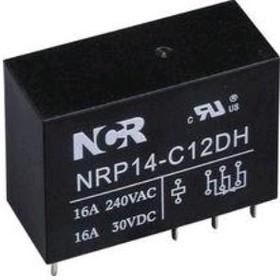 Фото 1/2 NRP-14-C-24D-H, Реле 1 пер. 24V / 16A, 240VAC