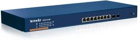 TEG1210P, 8-Port 10/100/1000 + 2 Shared Mini-GBIC Port Gigabit Smart Switch