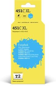 Картридж T2 IC-CCLI-451C XL голубой