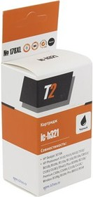 Картридж T2 №178XL CB321HE/CN684HE IC-H321, черный