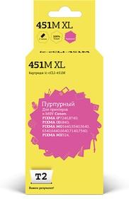 Картридж T2 IC-CCLI-451M XL пурпурный