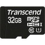 Карта памяти microSDHC UHS-I U1 TRANSCEND 32 ГБ, 90 МБ/с ...