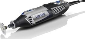 Фото 1/5 Dremel-4000 (1/45), 45 насадок, Инструмент многофункциональный аккумуляторный