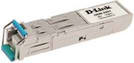 DEM-331R/20KM/10/B2A, 1-port mini-GBIC 1000Base-LX SMF WDM SFP Tranceiver (up to 20km, support 3.3V power, LC connector) (