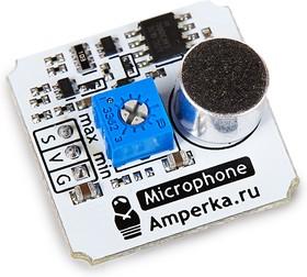 Фото 1/2 Troyka-Sound Loudness Sensor, Датчик шума аналоговый для Arduino проектов