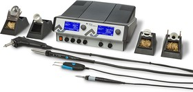 ICON VARIO 4 Профи (ICV4000-AICXV), Станция паяльно-ремонтная четырехканальная, антистатическая