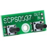 SCPS0037-13V-0.05, Кнопочный контроллер импульсного стабилизатора напряжения с памятью, до 13 В, шаг 0.05 В