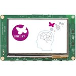 "STM32F746G-DISCO, Отладочная плата на базе MCU STM32F746NGH6 (ARM Cortex-M7), ST-LINK/V2-1, 4.3"" LCD-TFT, Arduino"