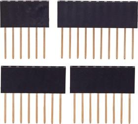 Контактные колодки Arduino, Набор из оригинальных контактных колодок (6-пин, 10-пин, 2 х 8-пин) для Arduino проектов