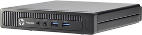 Компьютер HP ProDesk 400 G1, Intel Pentium G3250t, DDR3L 4Гб, 500Гб, Intel HD Graphics, Windows 7 Professional, черный [m3x28ea]