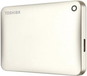 Внешний жесткий диск TOSHIBA CANVIO Connect II HDTC820EC3CA, 2Тб, золотистый
