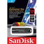 Фото 7/7 SDCZ800-128G-G46, Флеш-накопитель Sandisk Флеш-накопитель SanDisk Extreme GO USB 3.0 Flash Drive 128GB