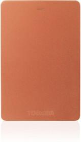 Внешний жесткий диск TOSHIBA Canvio Alu HDTH320ER3CA, 2Тб, красный
