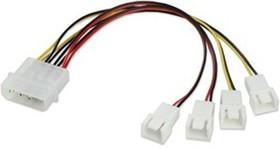 EC-DF003, Кабель-разветвитель для 4 вентиляторов