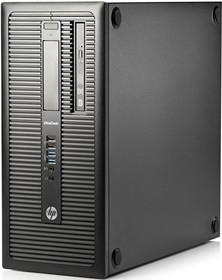 Компьютер HP EliteDesk 800 G1, Intel Pentium G3250, DDR3 4Гб, 500Гб, Intel HD Graphics, DVD-RW, Free DOS, черный [j7d16ea]