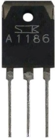2SA1186, Транзистор PNP 150В 10А 100Вт 60МГц [TO-3P]