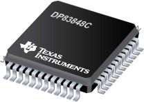 Фото 1/4 DP83848CVV/NOPB, Интерфейс Ethernet [LQFP-48]