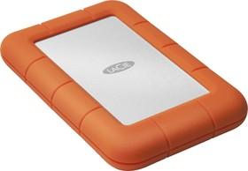 Фото 1/7 LAC301558, Накопитель на жестком магнитном диске LaCie Внешний жесткий диск LaCie LAC301558 1TB Rugged Mini USB
