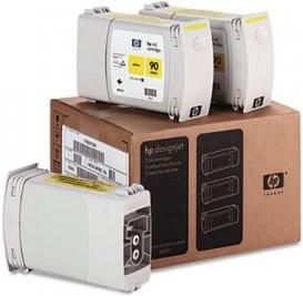 Тройная упаковка картриджей HP C5085A желтый