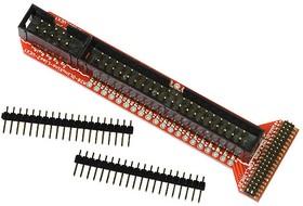Фото 1/2 A20-OLinuXino-LIME2-UEXT, Адаптер для покдключения к A20-OLinuXino-LIME2 модулей UEXT и LCD